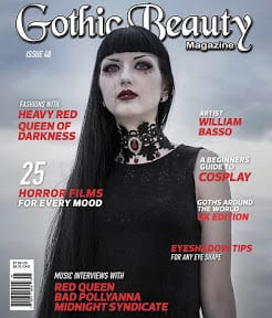 Gothic Beauty Issue 48 blog
