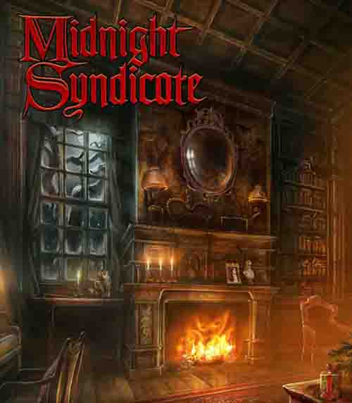 "Midnight Syndicate's ""Christmas: A Ghostly Gathering"" album cover"