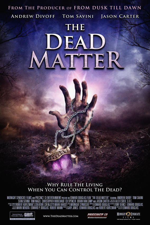 The Dead Matter (2010) movie poster