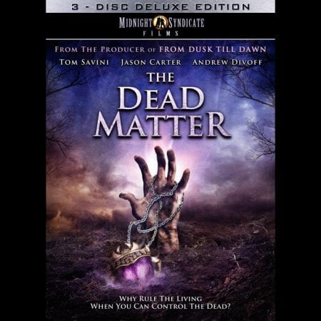 The Dead Matter Movie (2010) DVD cover