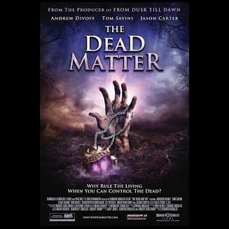 The Dead Matter DVD cover