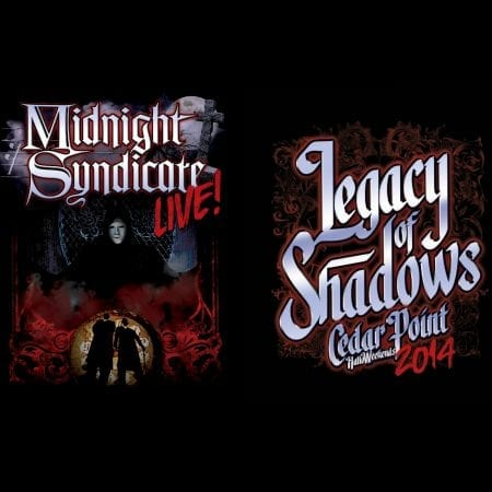 Midnight Syndicate Live! 2014 t-shirt