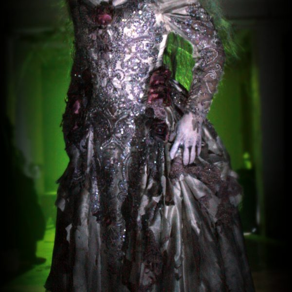 Actress Beth Biasella in Midnight Syndicate Live! at Cedar Point's HalloWeekends 2014