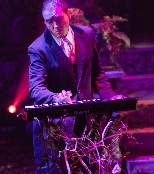 Gavin Goszka in Midnight Syndicate Live! at Cedar Point's HalloWeekends