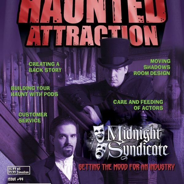 Midnight Syndicate cover story in Haunted Attraction Magazine