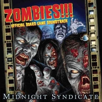 Zombies Official Board Game Soundtrack cover