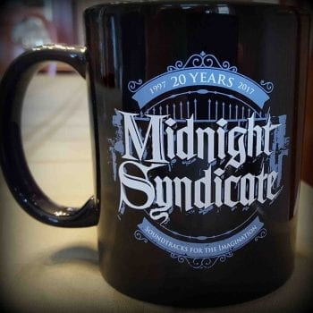 Midnight Syndicate 20th Anniversary mug