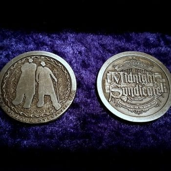 Midnight Syndicate 20th Anniversary coin