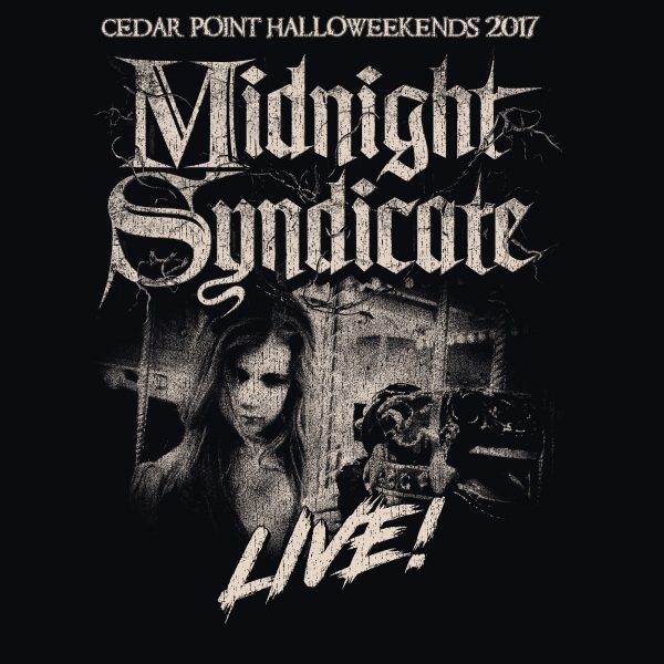 Actress Sarah Douglas in Midnight Syndicate Live! 2017 at Cedar Point's HalloWeekends