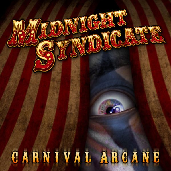 "Dark Carnival Music - Midnight Syndicate's ""Carnival Arcane"" album cover"