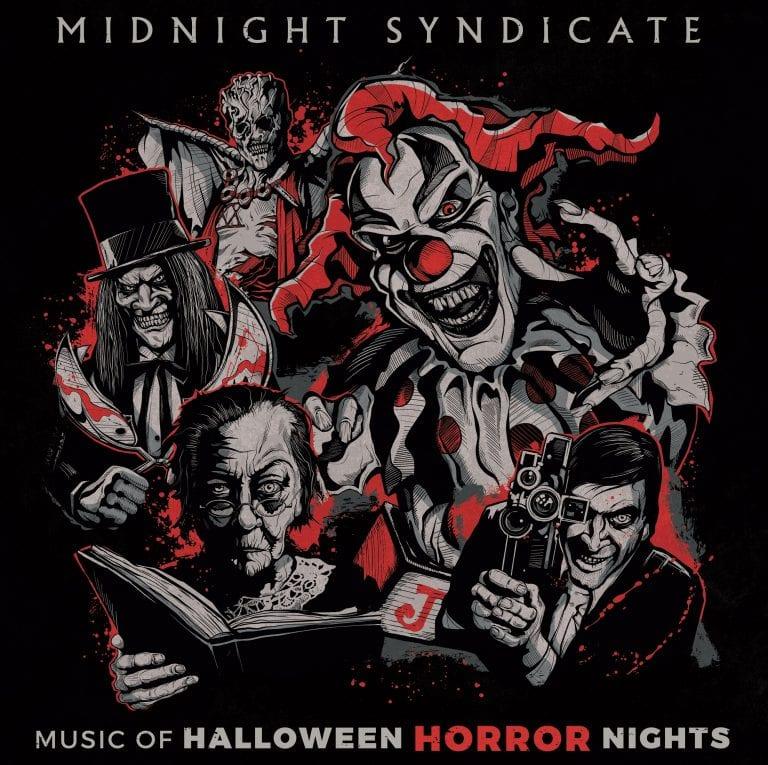 Music of Halloween Horror Nights album cover