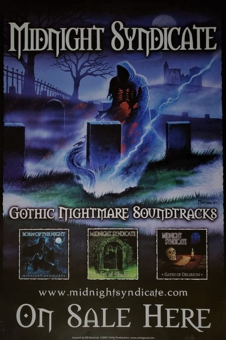 Midnight Syndicate Retail Poster 2001