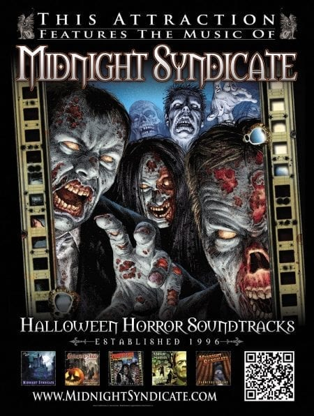 Midnight Syndicate Haunted Attraction Registry Poster 2016