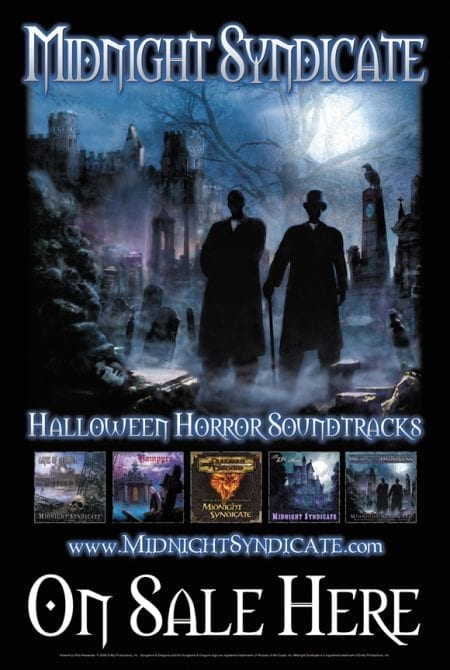 Midnight Syndicate Retail Poster 2006
