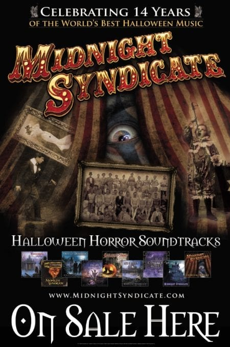 Midnight Syndicate Retail Poster 2011
