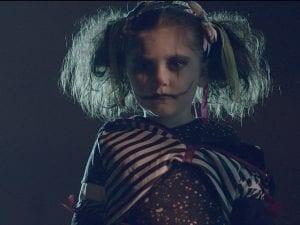 "Production still from ""Kiddieland"" music video"