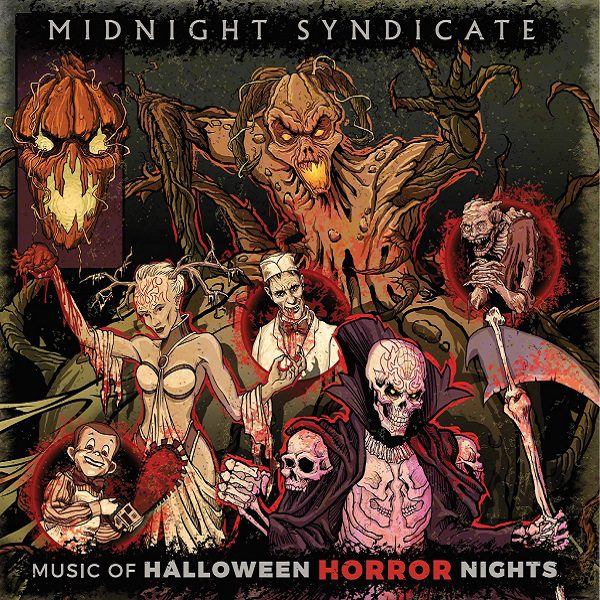 Music of Halloween Horror Nights album cover 2021
