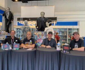 Midnight Syndicate album signing at Universal Orlando's Halloween Horror Nights 30